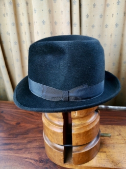 Deepest Grey Borsalino 'Trionfo' Hat