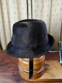 Brown Borsalino 'Astro' Hat