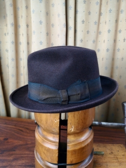Brown Borsalino 'Guasco' Hat