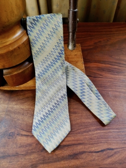 Light Blue Missoni Silk Tie