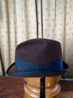 Brown 'Mayser Milz' Hat
